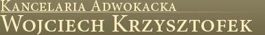 Kancelaria Adwokacka - Wojciech Krzysztofek